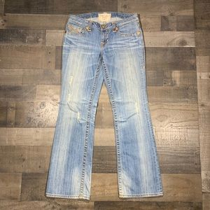 {Big Star} Livi Distressed Bootcut Jeans Sz 27